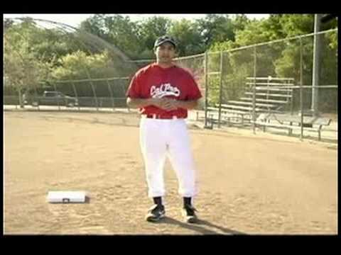 Coaching First & Third Base : Coaching a Runner Tagging Up at Third Base
