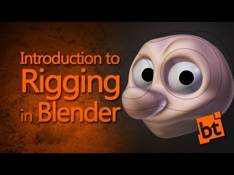 Intro to Rigging in Blender (How to rig eyes)