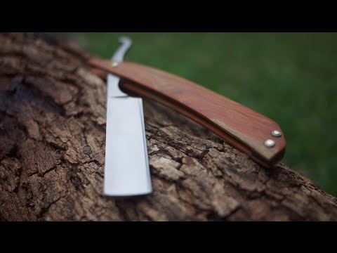 Making a cutthroat razor