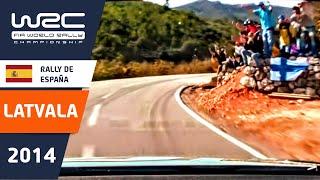Onboard: Jari-Matti Latvala/ SS10 Rally de Espana 2014