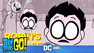 Teen Titans Go! | Robin's Day Off | DC Kids