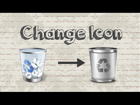 How to change Recycle Bin icon on Windows