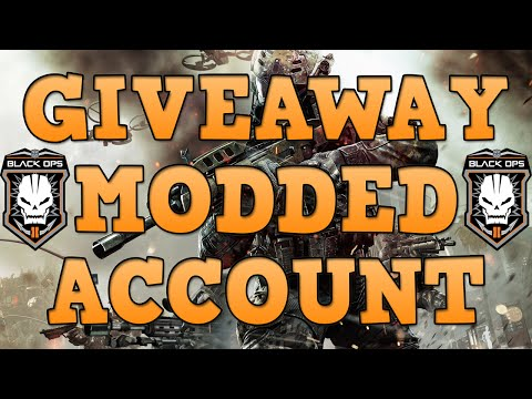 *Winners* B02 Modded Account Giveaway! 2,500 Subscribers