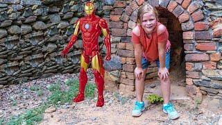 ASSISTANT Superhero Mine Hunt PJ Masks Hides Ironman Hulk and Captain America