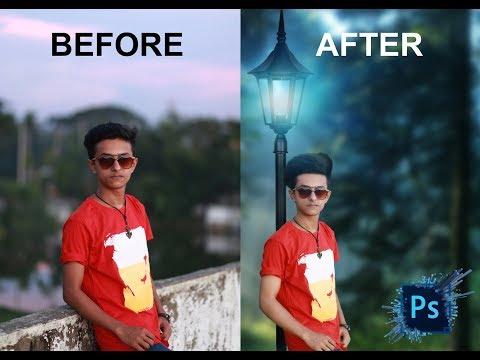 Background Change Photo Edit Photosop Cc Tutorial