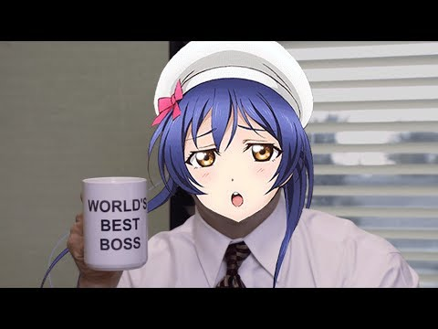 Snow Halation but with The Office theme