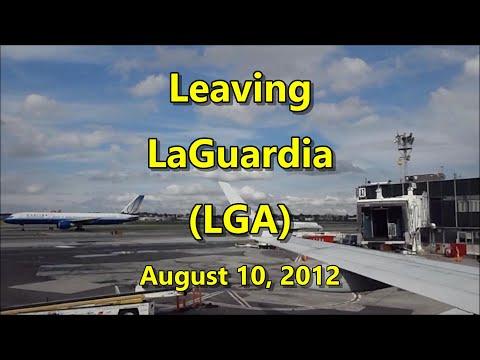 Leaving LaGuardia (LGA) 08-10-12