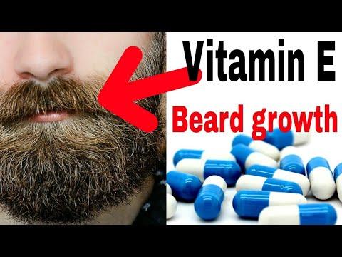 How to select vitamin E capsule for hair, beard, moustache