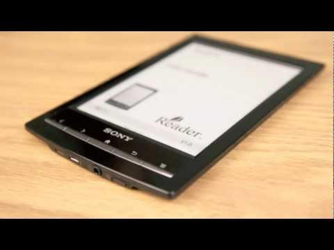 Sony Reader PRS-T1 WIFi - Sony eReader Review