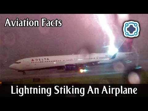 What Happens When Lightning Strikes An Airplane - Aviation Facts