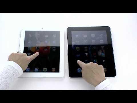 Speed Test - iPad 2 vs iPad App Performance