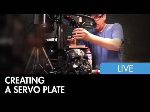 Terminator Neck Mechanisms - Servo Plate Construction