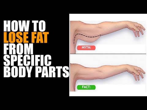 How To Lose Fat From Specific Body Parts