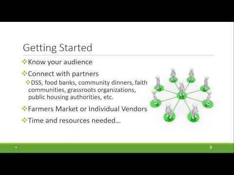 How Farmers' Markets Can Accept SNAP & EBT [ Webinar Recording]