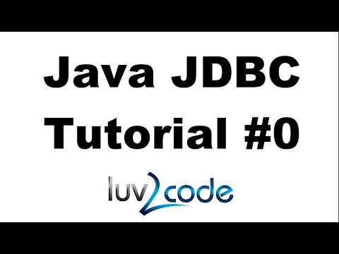 Java JDBC Tutorial - Part 0: Overview