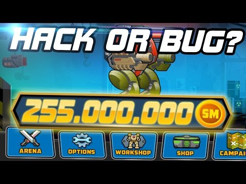 [SuperMechs] 255.000.000 SM CREDITS ON ONE ACCOUNT!!!??? THAT IS HACK OR BUG???