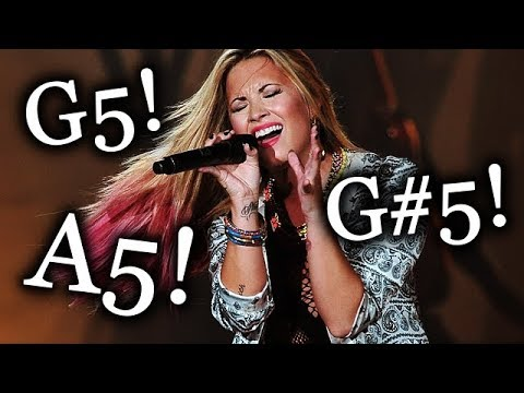 Demi Lovato - Adding HIGH NOTES To Songs She Covered! (F5-A5)