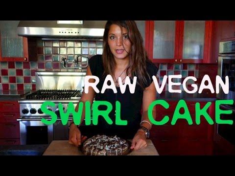 Raw Vegan Swirl Cake