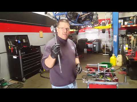 Ford Triton 5.4 engine oil leak from oil filter housing.