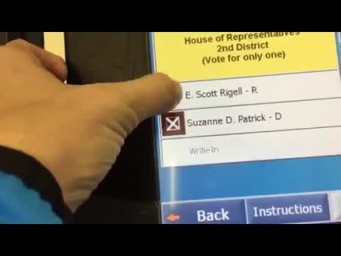 Voting machine issues at St. Andrews Church in Va. Beach