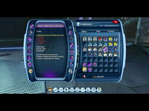 DC Universe Online: How to Mod Your Gear