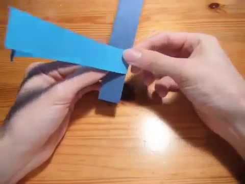 Origami Strip Icosahedron by Heinz Strobl