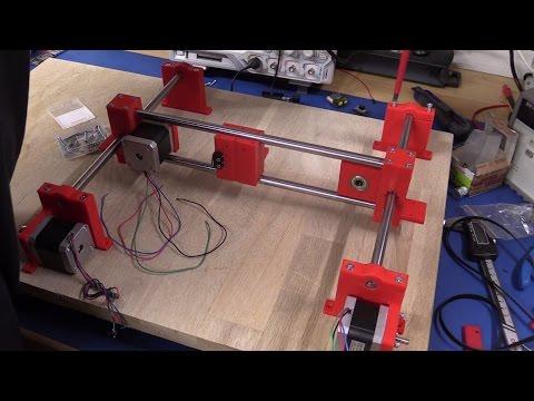 DIY Laser Engraver - Part 3: Assembling the Machine - Ec-Projects