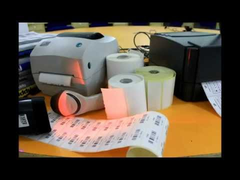 How to print label sheets and rolls with barcode printers