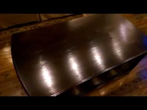 How to refinish furniture EASY!!!!