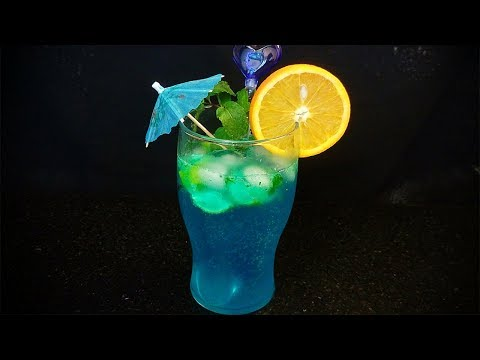 Blue Lagoon Mocktail | Blue Lagoon Mocktail Recipe in hindi By Farheen Khan | Non-Alcoholic Drink