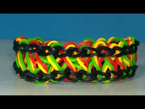 Rainbow Loom Taffy Twist Bracelet With Two Forks Without Loom EASY Loom Bands