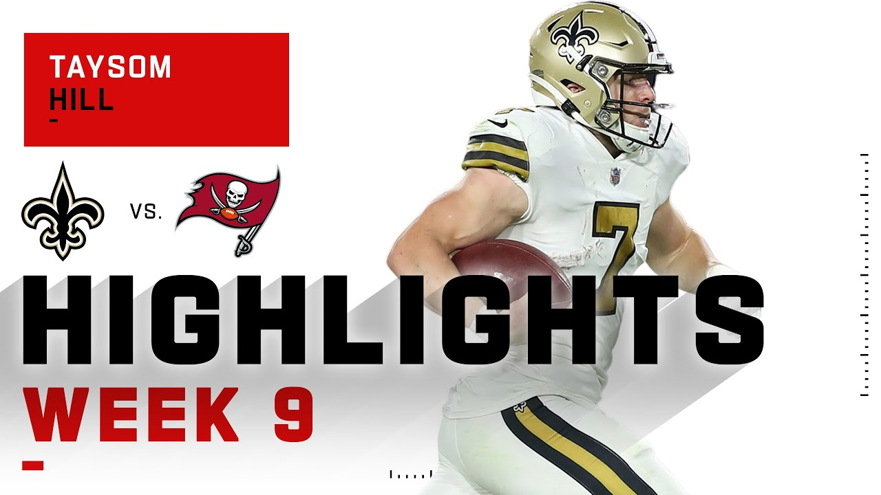 Swiss Army Knife Taysom Hill Does It All! | NFL 2020 Highlights