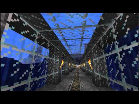 Full Minecart Powered Rail Network - Minecraft 1.6