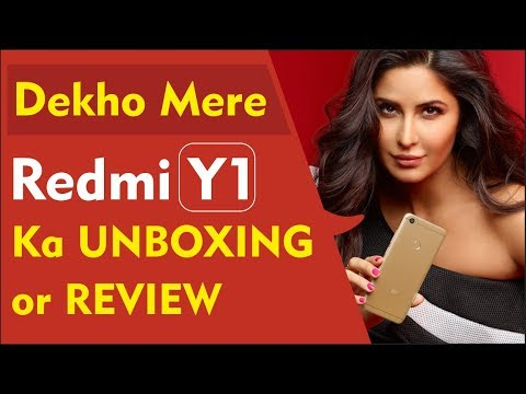 Redmi Y1 Unboxing & Review in Hindi | Redmi Y1 Camera & Gaming Review