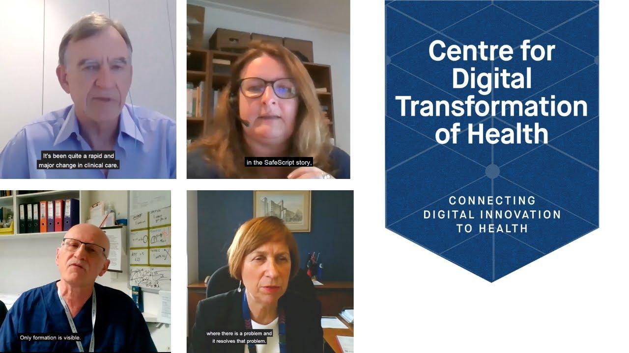 Centre Digital Transformation of Health Launch Panel