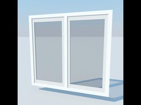 Modeling 3D Window 3D Studio Max