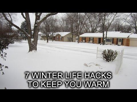 7 Winter Hacks to Help Keep You Warm