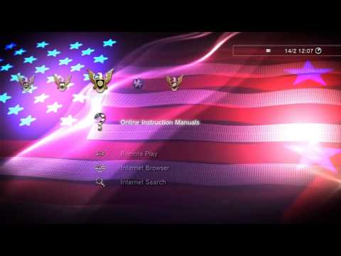 American Flag Dynamic PS3 Theme