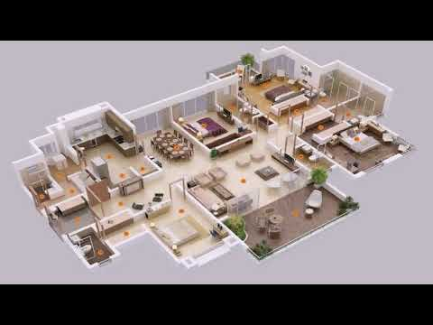 House Plan Of 4 Bedrooms
