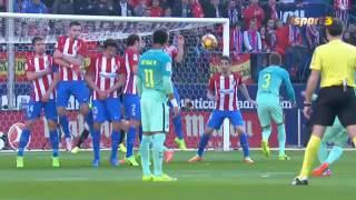 Atlético de Madrid vs FC Barcelona [AMPLIO RESUMEN][1-2][26/02/2017][La Liga - Jornada 24]
