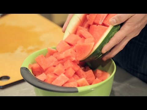 How To Easily Cut A Watermelon