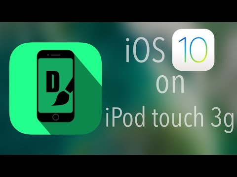 iOS 10 on iPod touch 3g (and probably ipad 1)