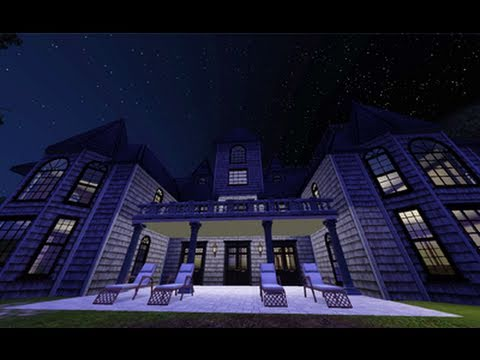 The Sims 3 - Building a Haunted Mansion