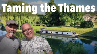 110. Taming the Thames. Narrowboat Journey on England's most FAMOUS River!