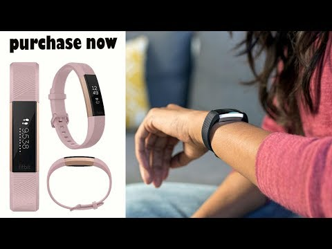 Fitbit Alta HR, Special Edition Pink Rose Gold, Large US Version