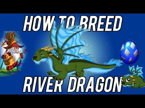 How to breed River Dragon 100% working DragonVale!