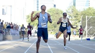 UNC Track & Field: Kenny Selmon Wins 400 Hurdles at ACC Championships