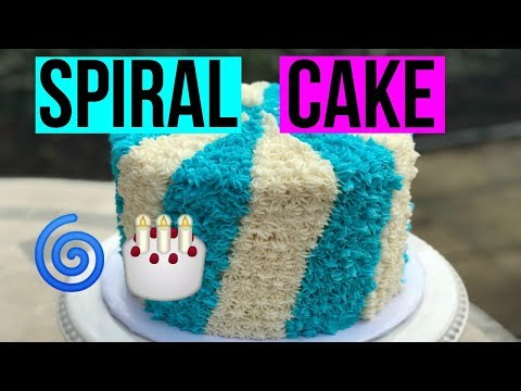 How To Make a SPIRAL CAKE! - Baking With Ryan Episode 56