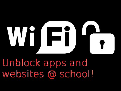 How to Unblock Your School's WiFi Android & IOS with Hotspot Shield