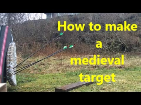 How to make a medieval target